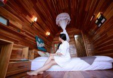 """Không gian lãng mạn ở Eco Lodge – """"Lều vịt"""" Cô Tô"""